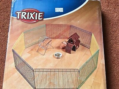 Trixie Joy Hamster Small Animal Run Exercise Metal Playpen Indoor Enclosure 6247