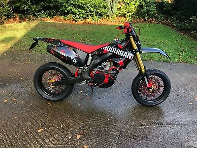 CRF 450 (490cc) Supermoto custom build