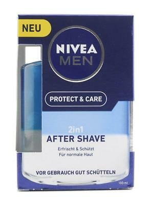 NIVEA MEN Protect & Care 2in1 Aftershave 100ml PZN: 13590658
