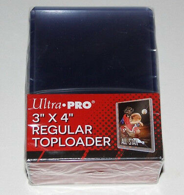 "25 Ultra Pro 3""x4"" Regular Standard Toploader Cases MTG Magic Pokemon Baseball"