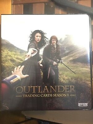 Outlander Season 1 Binder 2 With B2 Card And Complete Mini Master Season 2 Set