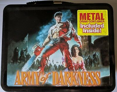 Army Of Darkness Metal Lunchbox With Thermos