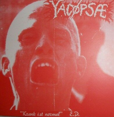 "YACÖPSAE ""Krank ist....""  7"" hellnation,spazz,infest,despise you,acxdc,nasum,rot"