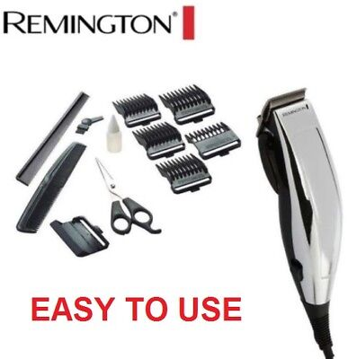 NEW REMINGTON HAIR CLIPPERS Mens Electric Clipper Trimmer Styling Kit Home Cut