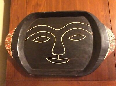 Hand Carved African Tray