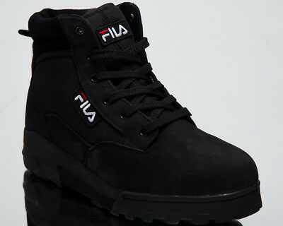 FILA GRUNGE MID New Men Shoes Black 2018 High Top Last size 9 US 1010107-25Y