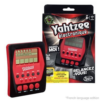 New FRENCH Yahtzee Electronique Classic Hasbro Game Official