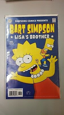 Bongo Comics Group - Bart Simpson Comics #43 - 2008 - BN - Bagged & Boarded