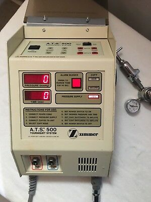 Aspen Lab Zimmer A.T.S. 500 Tourniquet System, Works Great, Pre-owned