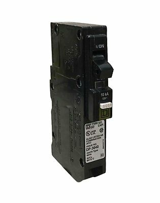 Square D by Schneider Electric QO120PCAFI  20-Amp Single-Pole Plug-On Neutral...