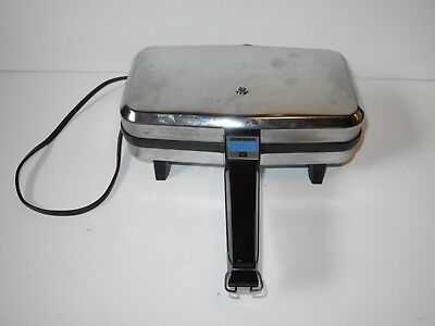 Vintage Vitantonio Krumkake Baker 900 Watts Model #350 Electric Iron Pizzelle