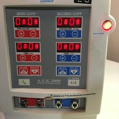 Zimmer ATS 2000 Automatic Tourniquet System 357, Works Great, Pre-Owned