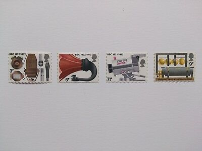 gb stamps mint full set,broadcasting