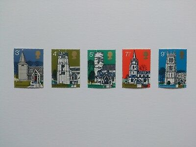 gb stamps mint full set architecture 1972