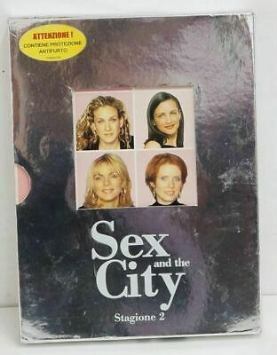 SEX and the CITY Stagione 2 Completa n. 3 DVD in Cofanetto