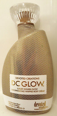Devoted Creations Dc Glow Tanning Bed Lotion 13.5 Oz Fresh!!!