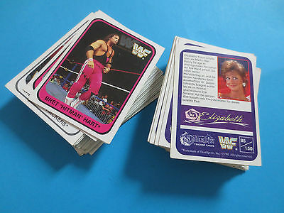 147/150 WWF Trading Cards Wrestling 1991 weisse Serie cooll!!