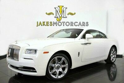 2014 Rolls-Royce Wraith ($339,150 MSRP)...ONLY 8100 MILES! 2014 Rolls-Royce Wraith~ $339,150 MSRP~ WHITE ON TAN~ ONLY 8100 MILES~ PRISTINE