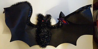 New Large Hanging Bat Adds Eerieness to Your Decor Wingspan Approximately 2 Feet