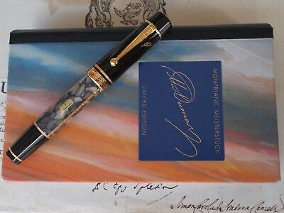 Montblanc A. Dumas Fountain Pen – Writers Limited Edition From 1996