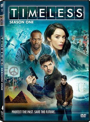 Timeless DVD Box Set Season 1 One Complete First TV Series Collection New