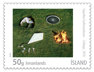 ICELAND 2018 2 ISSUES DATE 1-11-2018   6 stamps