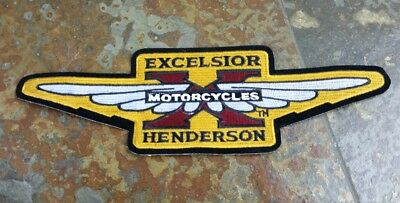 New Excelsior Henderson Motorcycle X Wing Patch