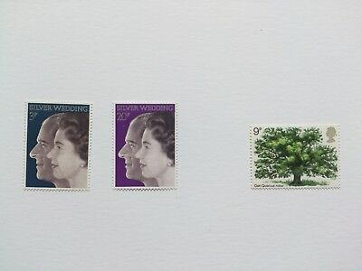 gb stamps mint 2 full sets 1972/1973