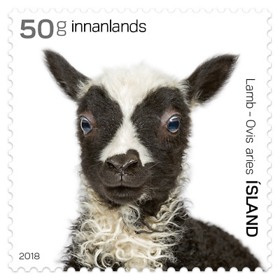 ICELAND 2018 7 ISSUES DATE 26-4-2018 8 stamps , 1 sheet