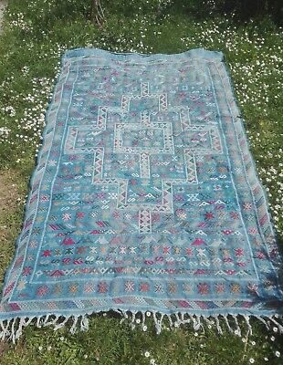 tapis ancien oriental  tribal