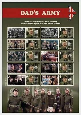 GREAT BRITIAN 2018 Dad's Army - Sheetlets