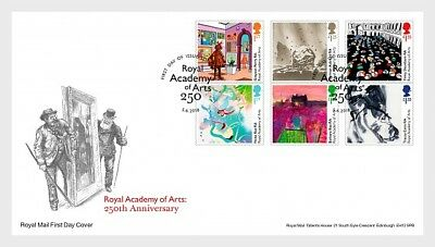 GREAT BRITIAN 2018 The Royal Academy of Arts - First Day Cover