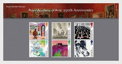 GREAT BRITIAN 2018 The Royal Academy of Arts - Presentation Pack