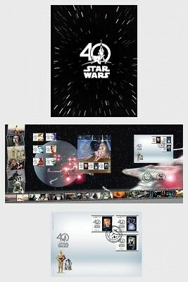 PORTUGAL 2018 Thematic Pack Star Wars 40 Years - Collectibles