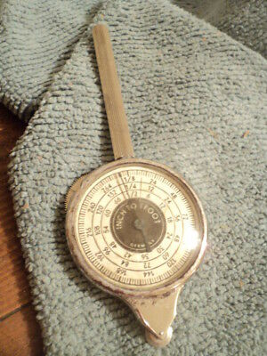 Vintage OPISOMETER Inches to Feet Made in Germany Drafting Measuring Tool