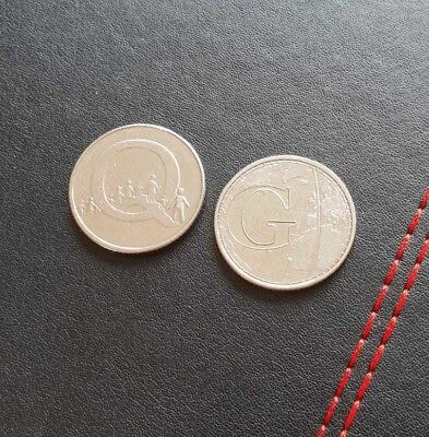 2018 10p Pence COIN HUNT - LETTERG& Q -Greenwich Meantime& Queuing