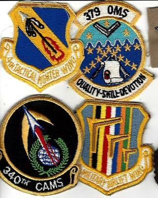 "Four 60s,70s,80s SQUADRON patches,You get 4  for the price of 4.  Approx 3"" high"