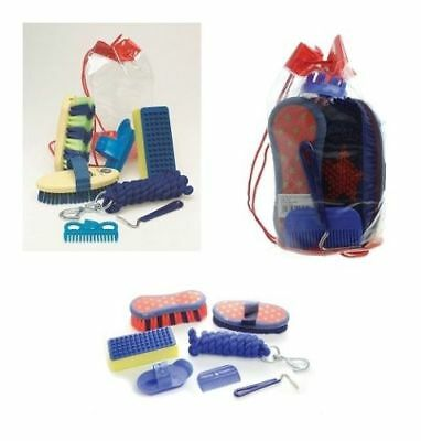 Wickedly Wild - Horse Pony Grooming Kit - includes lead rope - horse rider gift