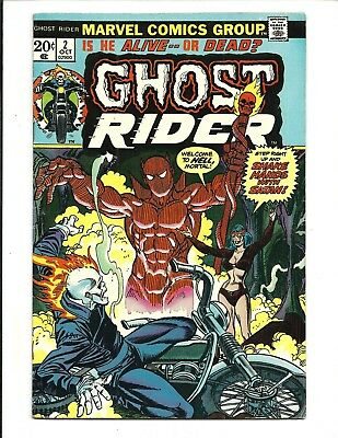 GHOST RIDER (Vol.1) # 2 (CENTS, OCT 1973), FN/VF