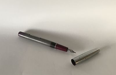 Vintage Platignum Pen - Missing Clip From Lid and has a Perished Ink Bladder