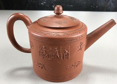 Circa 1695 Elers Brother Red Earthenware Teapot - British Pottery