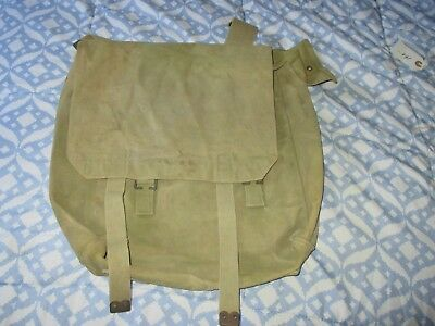 Wwi British 08 Pattern Mills Marked 1918 Used Large Back Pack
