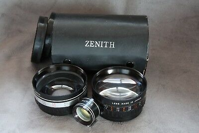 WIDE ANGLE & TELEPHOTO SCREW ON LENSES 58mm