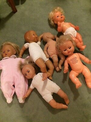 Job Lot Of Battery Operated Vintage Dolls