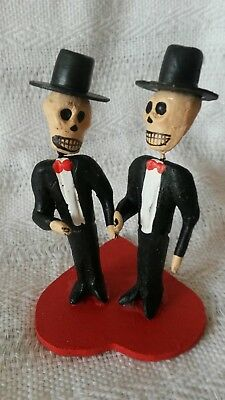 Day of the Dead Gay Couple