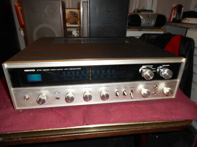 Top Vintage Nicco Stereo Receiver Modell STA-5050 voll intakt