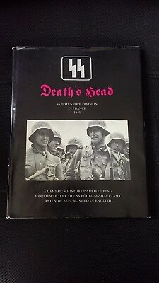 """Death's Head - """"SS Totenkopf Division In France 1940"""" - Book (English Transl.)"""