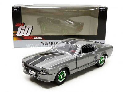 Greenlight Collectibles - 1/24 - Ford Mustang Shelby - Gt 500 Custom - Eleanor -