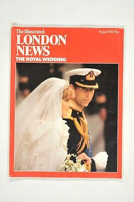 Illustrated London News - Royal Wedding - Charles & Diana - August 1981
