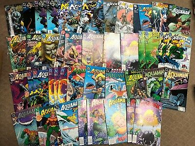 Lot of 45+ DC Aquaman Comics - mid grades - hot title - movie